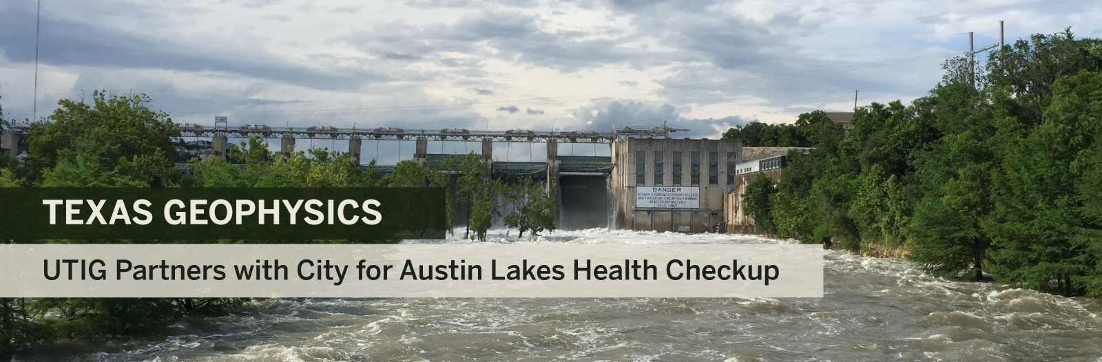 Austin Partners with UT to give City Lakes a Health Checkup banner